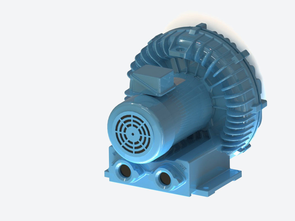 AMETEK DFS ROTRON Industrial REgenerative Blower